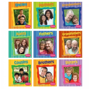 FAMILIES BOOKS SET OF ALL 9
