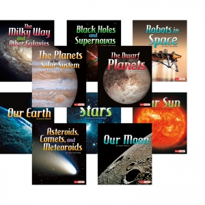 THE SOLAR SYSTEM & BEYOND BOOK SET  OF 10