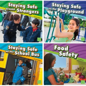 STAYING SAFE BOOKS 4/SET