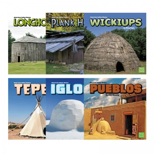 AMERICAN INDIAN HOMES 6 BOOK SET