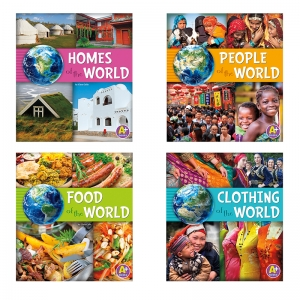 GO GO GLOBAL BOOK SET OF 4