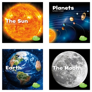 SPACE BOOK SET OF 4