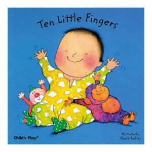 (6 EA) TEN LITTLE FINGERS BOARD BOOK