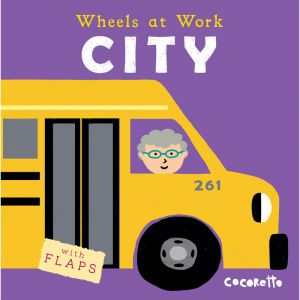 Wheels at Work Board Book, City, Pack of 3