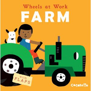 Wheels at Work Board Book, Farm, Pack of 3