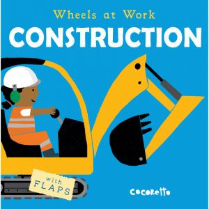 Wheels at Work Board Book, Construction, Pack of 3