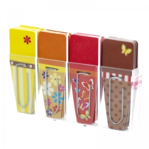 Spring Clip-Flags�, Yellow/Orange/Red/Brown