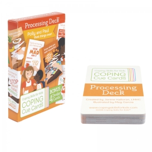 Coping Cue Cards Processing Deck