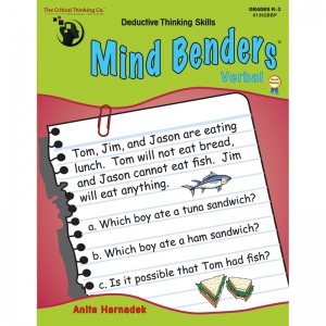 MIND BENDERS VERBAL GR K-2