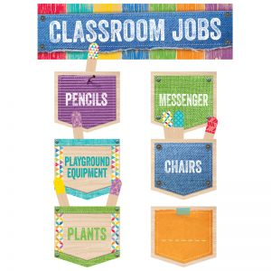 (3 ST) CLASSROOM JOBS MINI BB SET UPCYCLE STYLE