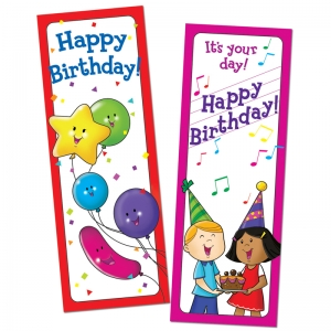 Happy Birthday, Bookmarks