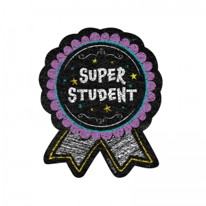 SUPER STUDENT BADGE CHALK IT UP