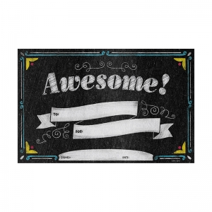 AWESOME SMALL AWARDS - CHALK IT UP