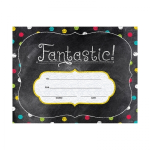 FANTASTIC LARGE AWARDS - CHALK IT  UP