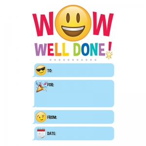EMOJI FUN WELL DONE AWARD