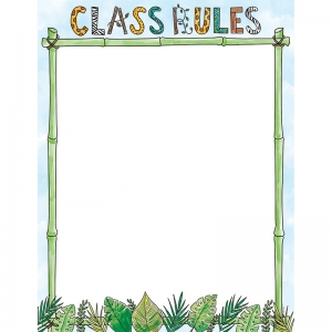 SAFARI FRIENDS CLASS RULES CHART