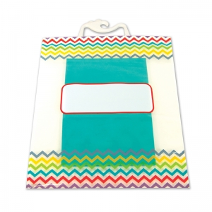 CHEVRON STORAGE BAGS 6PK