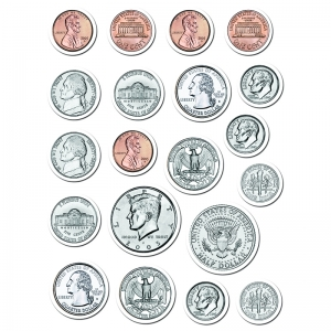 COINS STICKERS
