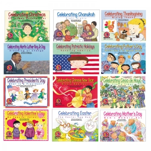 HOLIDAY SERIES VARIETY PK 12-SET OF  BOOKS 1 EA 4522-4533
