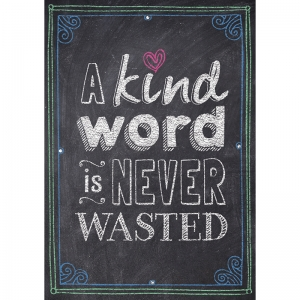 A KIND WORD IS NEVER WASTED POSTER