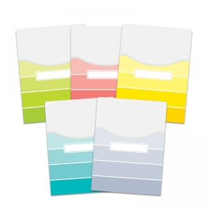 PAINT CHIPS 9X12 LIBRARY POCKETS