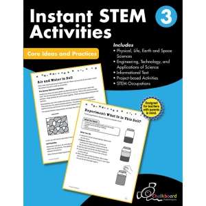 GR3 INSTANT ACTIVITIES WORKBOOK  STEM