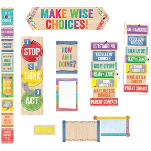 UPCYCLE STYLE BEHAVIOR CLIP CHART  & DESKTOP CLIP CHART