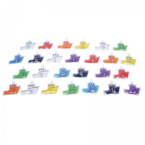 Rainbow Gel Alpha Boats, Set of 26