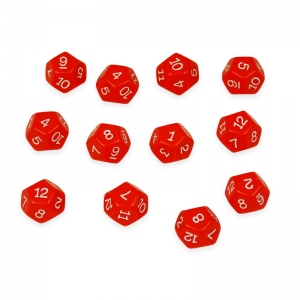 12-Sided Polyhedra Dice