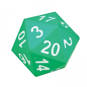 Jumbo 20-Sided Foam Die