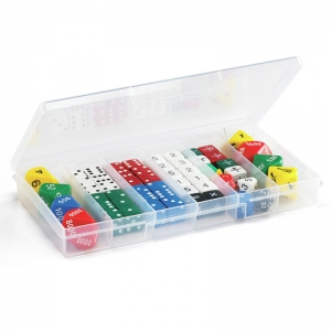 Classroom Dice Set, 56 Pieces