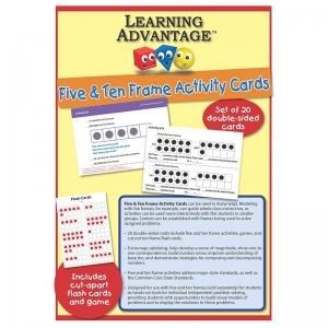 Five & Ten Frame Activity Cards