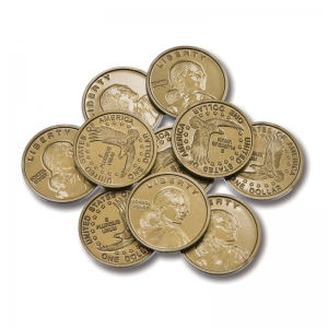 DOLLAR COINS SET OF 50