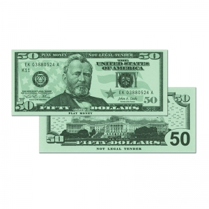 $50 Bills, Set of 50
