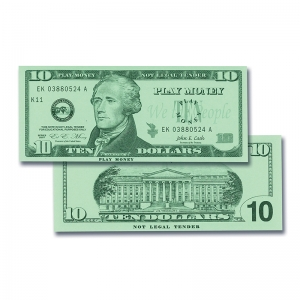 $10 Bills Set, Set of 100