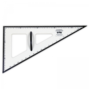 DRY ERASE MAGNETIC TRIANGLE  30/60/90