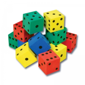 Foam Dot Dice