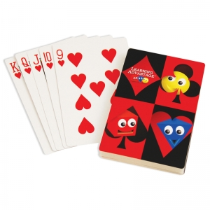 Giant Playing Cards, 52 Per Pack