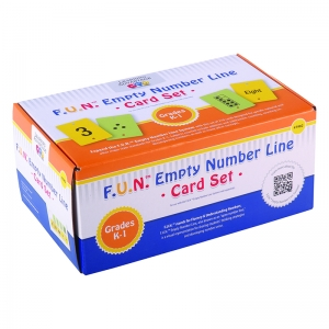 F.U.N. Empty Number Line, Cards Only, Gr. K-1