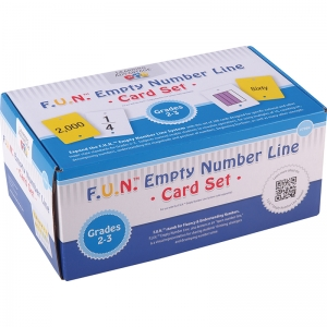 F.U.N.� Empty Number Line, Cards Only, Grades 2-3