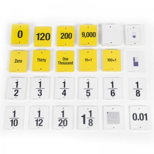 F.U.N.� Empty Number Line, Cards Only, Grades 4-5