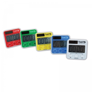 Learning Advantage Dual Power Timer, Set of 5