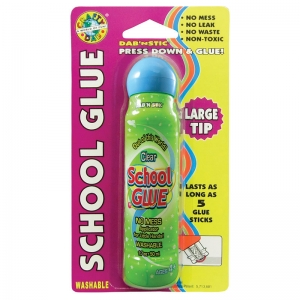 CRAFTY DAB GLUES DAB N STIC SCHOOL  GLUE