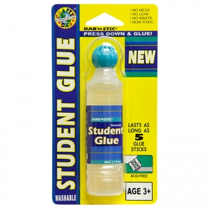 Crafty Dab Student Glue - Clear, Single Blister
