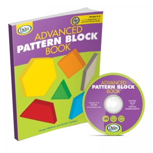 Didax Advanced Pattern Block Book & CD