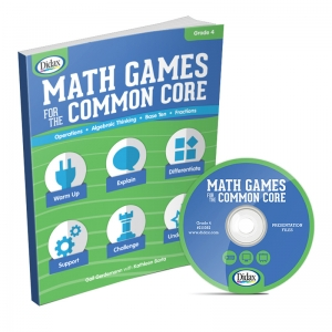MATH GAMES FOR THE COMMON CORE GR 4
