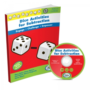 Didax Dice Activities for Subtraction Book & CD