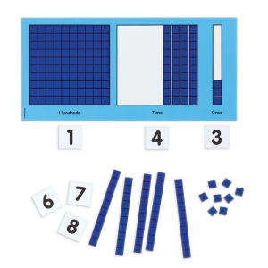 Magnetic Base Ten Place Value Set
