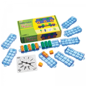 Ten-Frame Trains Activity Set