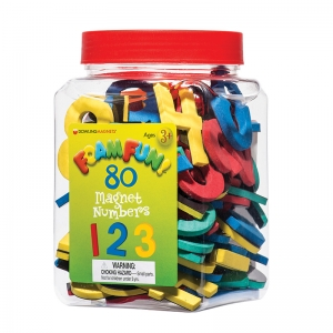 Foam Fun!� Number Magnets, 80/Pack